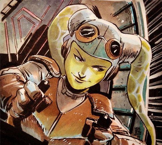 Нетолько Лея! 5 главных женских персонажей нового канона «Звездных Войн». - Изображение 13