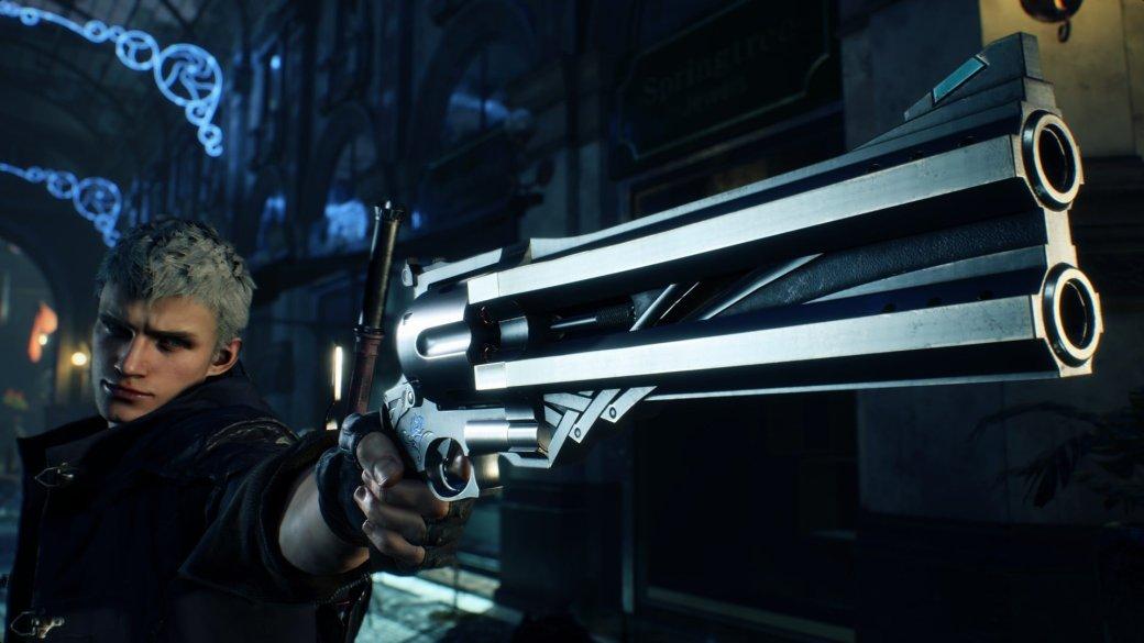 Авторы Devil May Cry 5 показали еще больше Неро вдействии ивпечатляющие арты его напарницы | Канобу - Изображение 0