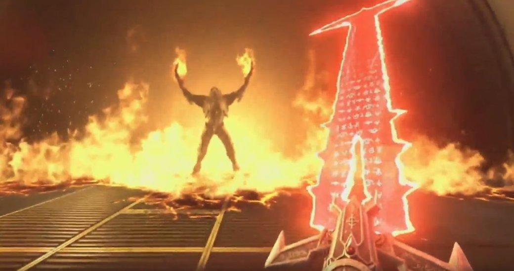 DOOM Eternal— крюк Скорпиона иАднаЗемле. Что еще показали вгеймплее игры наQuakeCon 2018?. - Изображение 6