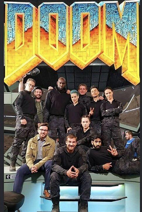 ВСети появились первые фото сосъемок новой экранизации Doom. - Изображение 18