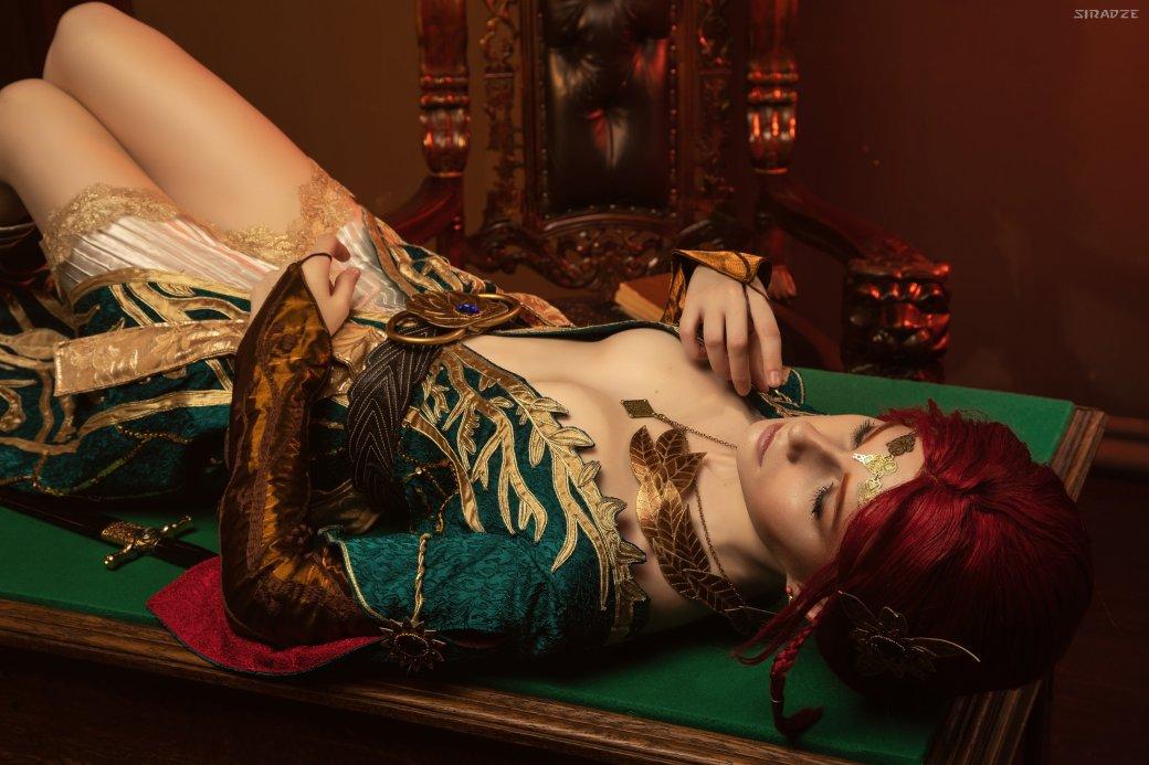 Отличный косплей чародейки Трисс Меригольд из«Ведьмака» | Канобу - Изображение 1159