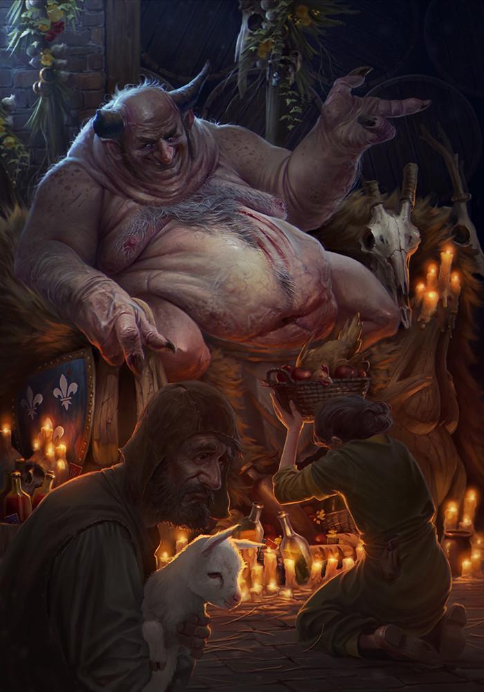 Галерея. Крутейший фанарт по«Ведьмаку», откоторого сразуже хочется перепройти трилогию игр | Канобу - Изображение 6273