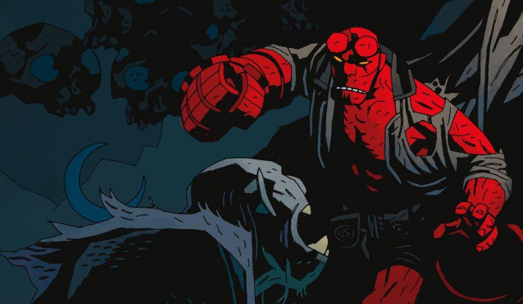 Не такой уж и мрачный! Хеллбой сражается с демонами в первом трейлере перезапуска франшизы | Канобу - Изображение 5091