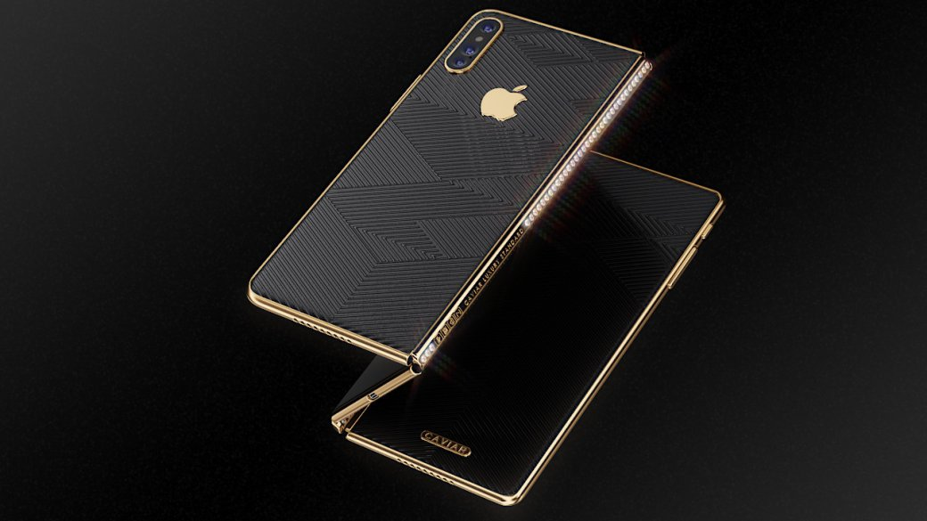 Российские разработчики представили концепт складного премиум-смартфона iPhone Z | Канобу - Изображение 1