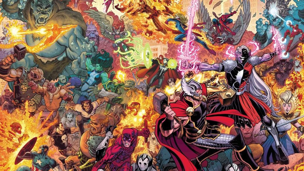 War ofthe Realms. Как супергерои вместе сТором иАсгардом Землю отвторжения защищали | Канобу