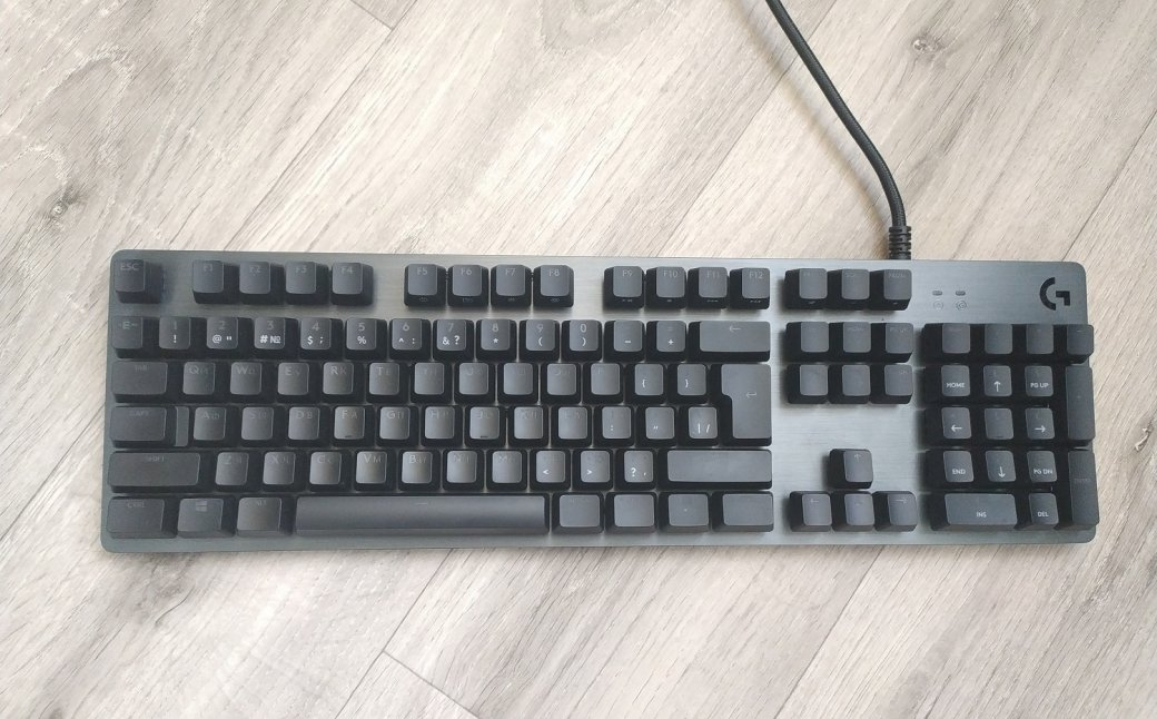 Обзор клавиатуры Logitech G512 Carbon— алюминиевый RGB-стиляга для геймеров | Канобу - Изображение 11543