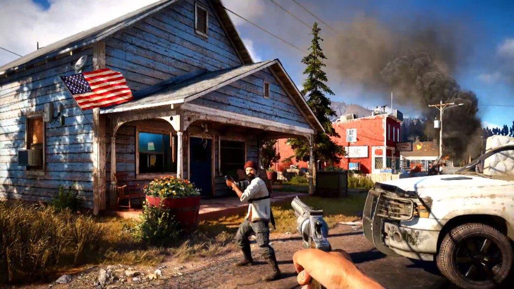 «Реальность страннее любого вымысла»: авторы Far Cry 5 рассказали осеттинге игры. - Изображение 1