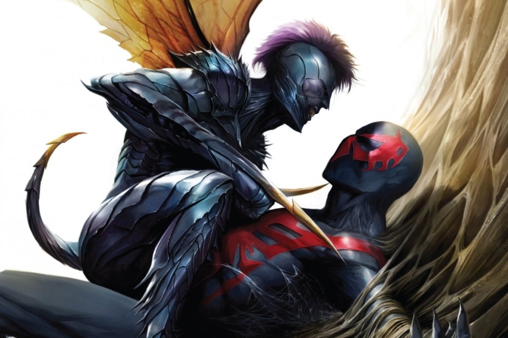 Человек-паук 2099: Почему стоит прочитать комикс оПауке избудущего | Канобу