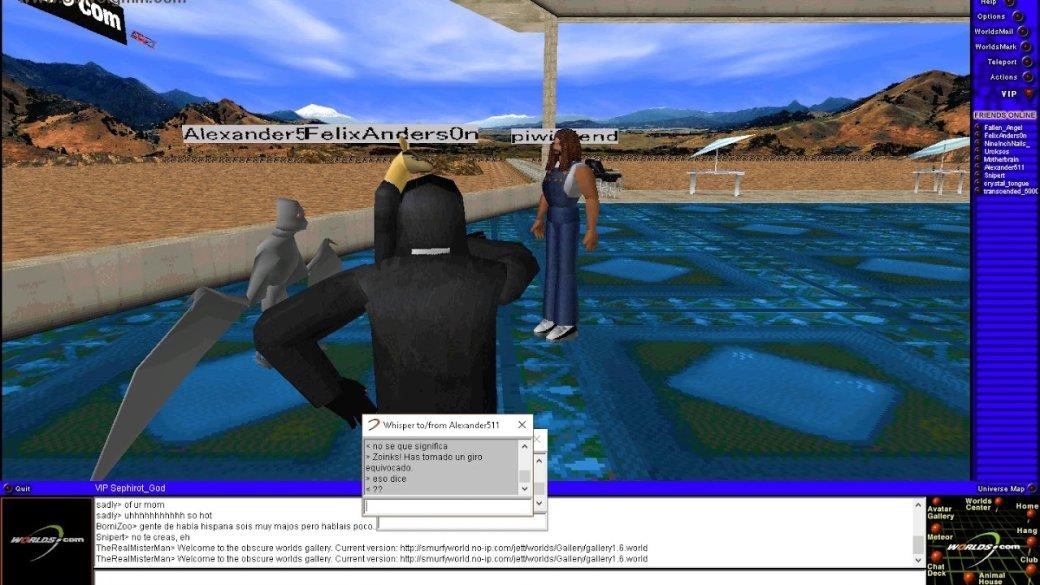 Сыгралибы? Worlds.com— древний 3D-чат, вкотором творится жуткая дичь | Канобу - Изображение 5