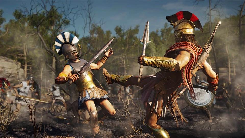 Безбашенная боевка,очень хорошая лошадь и This Is Sparta: подробности Assassin's Creed Odyssey | Канобу - Изображение 13055